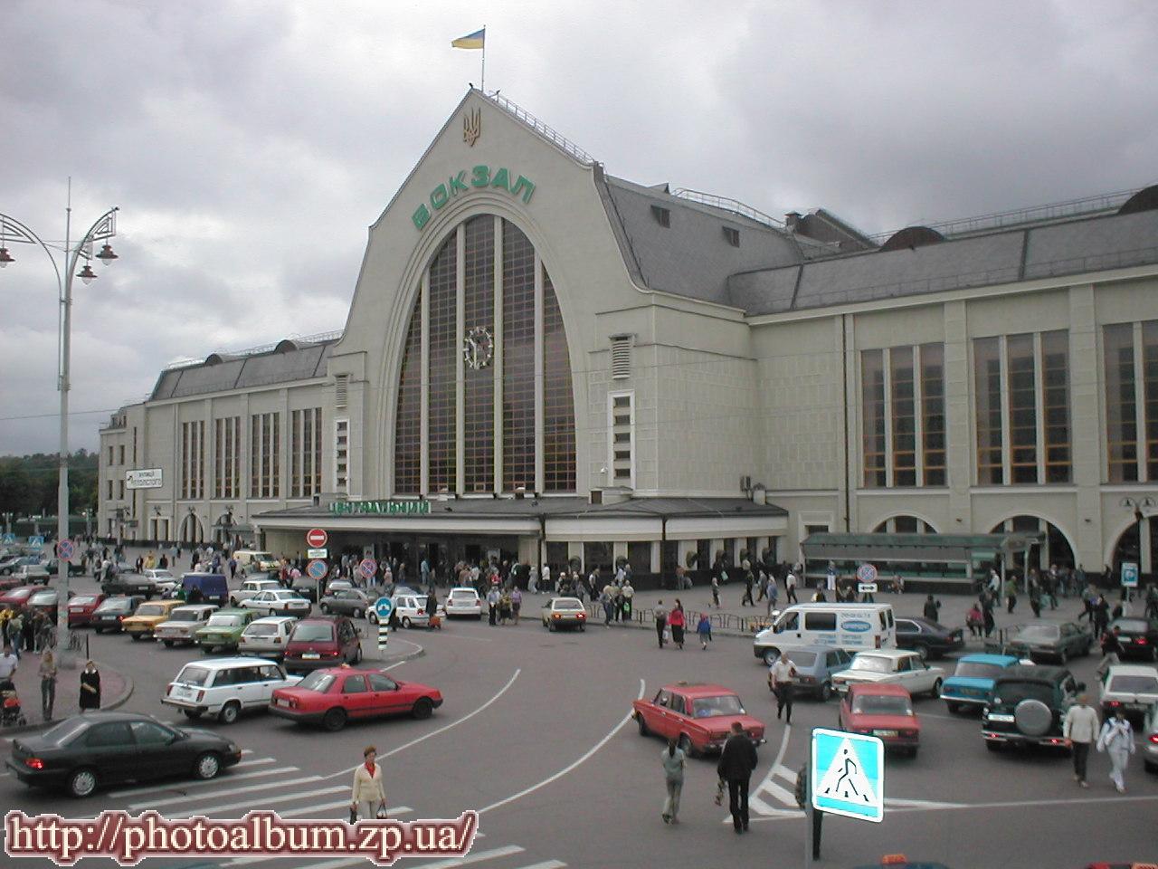 Схема жд вокзала киев